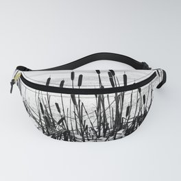 Winter Cattails Fanny Pack