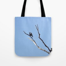 The Magpie that Comes and Goes Tote Bag
