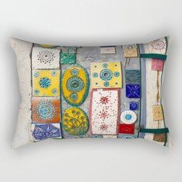 The Tiles of Lisbon Rectangular Pillow