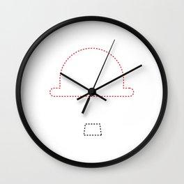 Chaplin minimalist Wall Clock