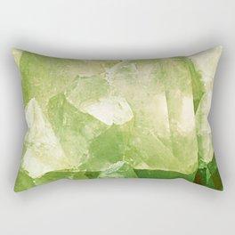Green Gems Rectangular Pillow
