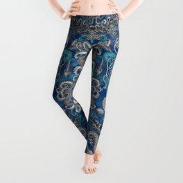 The Kraken (Blue - No Text, Alt.) Leggings