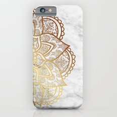 Mandala - Gold & Marble Slim Case iPhone 6s