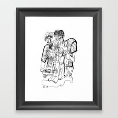 20170209 Framed Art Print
