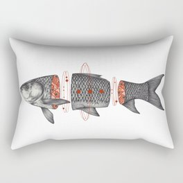 Sashimi I Rectangular Pillow