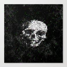 Death Shuffle Canvas Print