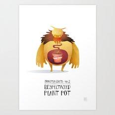 Monster Diets No.2 Art Print