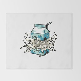 Milk Throw Blanket