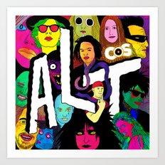 ALT1 by Steven Fiche Art Print