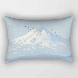 """Shasta"" by Murray Bolesta! Rectangular Pillow"