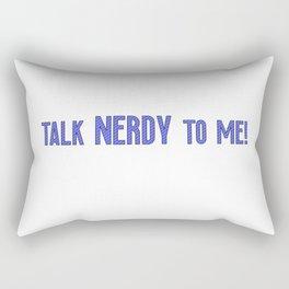 Nerdy Game Gaming Geek gift idea Rectangular Pillow
