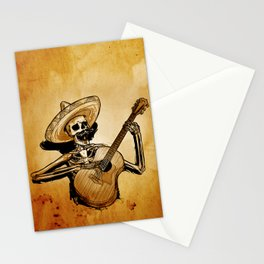 The Dead Mariachi Stationery Cards