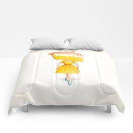 Cake Head Pin-Up - Lemon Comforters