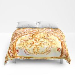 Mughal jharokha (window) Comforters