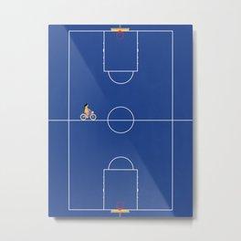 Basketball Illusions  Metal Print