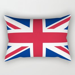 UK FLAG - The Union Jack Authentic color and 3:5 scale  Rectangular Pillow