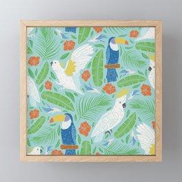 Wings Across The Tropics I Framed Mini Art Print