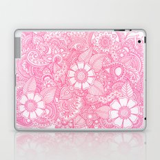 Henna Design - Pink Laptop & iPad Skin