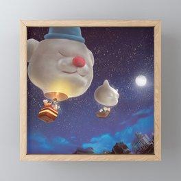 SmileDog Balloon Framed Mini Art Print