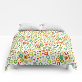 dp065-10 floral pattern Comforters