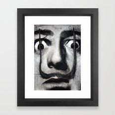 I am drugs ( Salvador Dali ) Framed Art Print