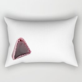 This pyramid shape of an cuberdons is a very tasty candy from Ghent Rectangular Pillow