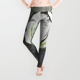 Golden Rose Acrylic Icey Green Mint Chocolate Chip Leggings