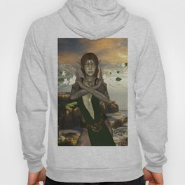 Fairy with flowers Hoody