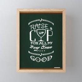 Good Life Framed Mini Art Print