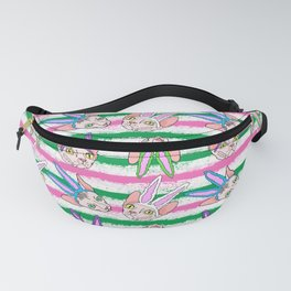 easter sphynx stripes Fanny Pack