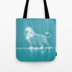 The Water Lion Tote Bag