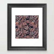 Forgotten Machines Framed Art Print