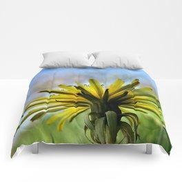Yellow Flower 2 Comforters