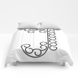 """Letter """"J"""" in beautiful design Fashion Modern Style Comforters"""