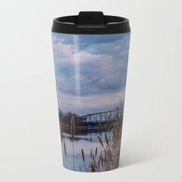 Cloudy Skies Metal Travel Mug