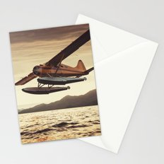 Flying in the Sunset Stationery Cards