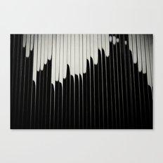STEEL & MILK II. Canvas Print