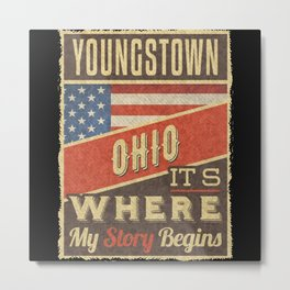 Youngstown Ohio Metal Print