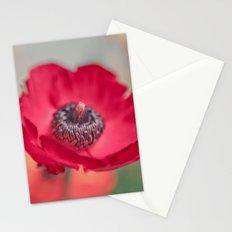 Red Poppy Stationery Cards