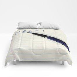 Pen Help Comforters