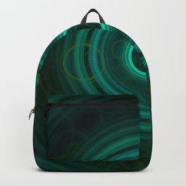 Teal Delight | Fractal Art Backpack