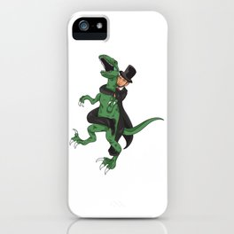 Lincoln jiu jitsu iPhone Case