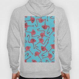 Flamingo Pattern Hoody