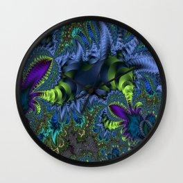 Fractal Jungle Wall Clock