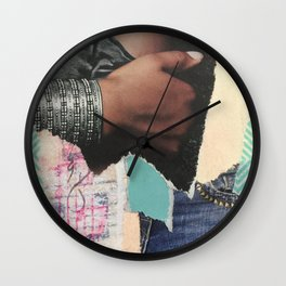 Ripped Jeans Wall Clock