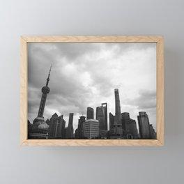 Shanghai - China Framed Mini Art Print