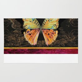 Spanish Butterfly Rug