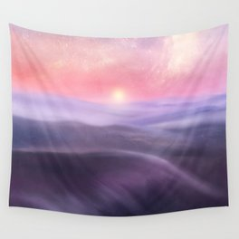 Minimal abstract landscape III Wall Tapestry