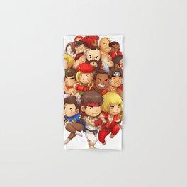 Street Fighter Hand & Bath Towel