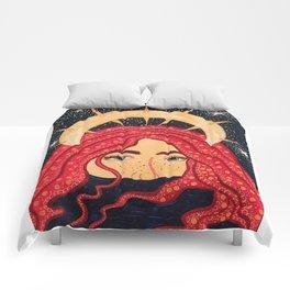 floating goddess Comforters